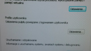 Zaawansowane ustawienia systemu Windows 7